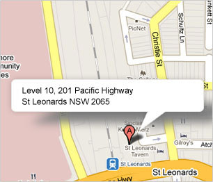 Level 10, 201 Pacific Highway, St Leonards NSW 2065